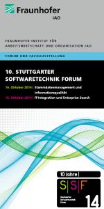 SSF 2014 am Fraunhofer IAO