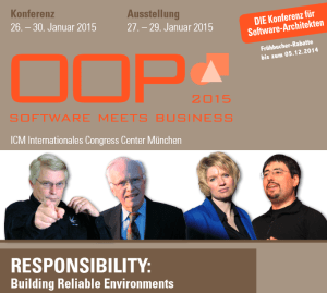 OOP 2015 in München: Software meets Business