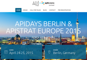 APIDays Berlin und APIStrat Europe in Berlin