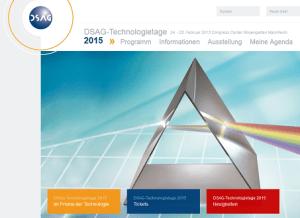DSAG Technologietage 2015 in Mannheim