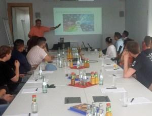 Präsentation von Oracle für Studierende der HFT Stuttgart