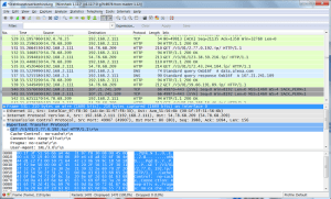 Wireshark - Wissen, was über das Netzwerk geht