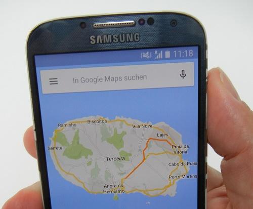 Google-Maps-Karten auf Mobilgeräten offline nutzen