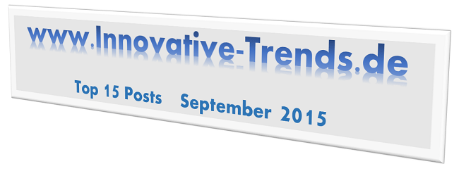 Top 15 Posts im September 2015