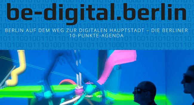 Berlin soll IT-Hauptstadt werden: be-digital.berlin