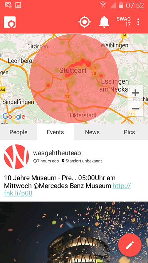 Flurfunk - Was ist in der Gegend los ?
