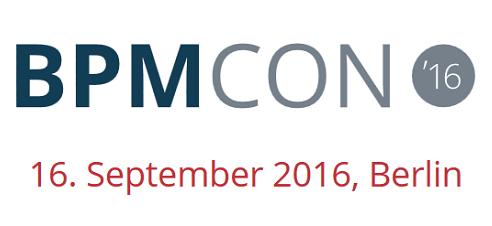 BPMCON 2016 am 16. September in Berlin