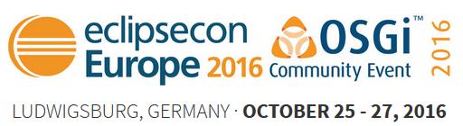 EclipseCon Europe 2016 und OSGi Community Event 2016 im Oktober in Ludwigsburg