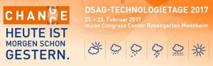 DSAG Technologietage 2017 in Mannheim