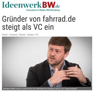Interview mit René Marius Köhler (Gründer von Internetstores / Fahrrad.de)