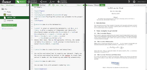 Overleaf - LaTeX Cloud-Umgebung