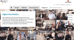 Digital Hub Initiative des BMWi