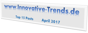 Top 15 Posts auf Innovative Trends