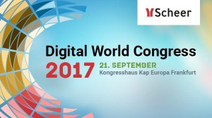 Scheer Digital World Congress 2017 in Frankfurt