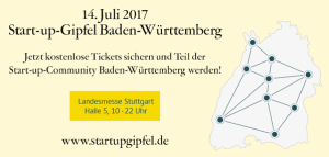 Startup-Gipfel BW am 14.7.2017