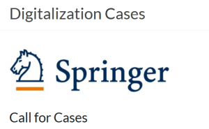 Springer-Buch: Digitalization Cases