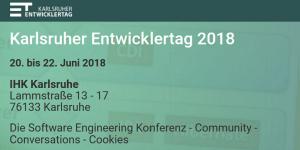 Karlsruher Entwicklertag 2018