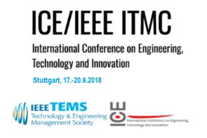 ICE / IEEE ITMC 2018 in Stuttgart
