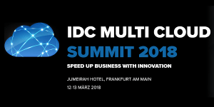 IDC Multi Cloud Summit 2018