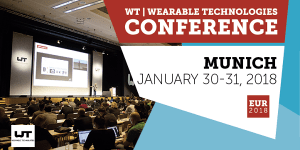 Wearable Technologies Conference EUROPE 2018 in München