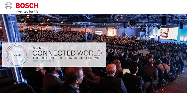 Bosch Connected World 2018 in Berlin - Alles rund um das Internet der Dinge (IoT)
