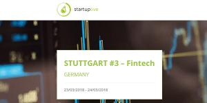 Startup Live Stuttgart #3: Fintech