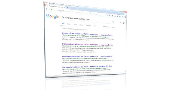 Die unendlichen Weiten des WWW – Interessante Webseiten / Angebote im Internet (VI)