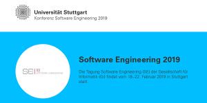 Software Engineering 2019 in Stuttgart