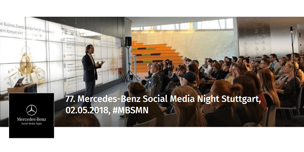 77. Mercedes-Benz Social Media Night (#MBSMN) am 2.5. in Stuttgart und Berlin: Fake News & Co.