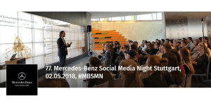 77. Merces-Benz Social Media Night