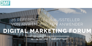 Digital Marketing Forum Stuttgart 2018