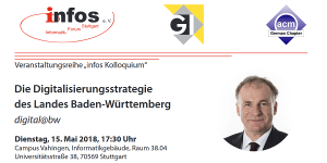 Digital@BW - Vortrag an der Uni Stuttgart
