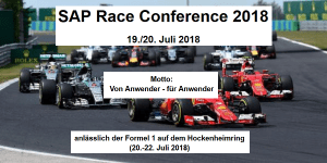 SAP Race Conference 2018 in Hockenheim