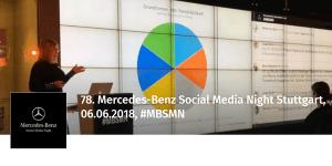 78. Mercedes-Benz Social Media Night