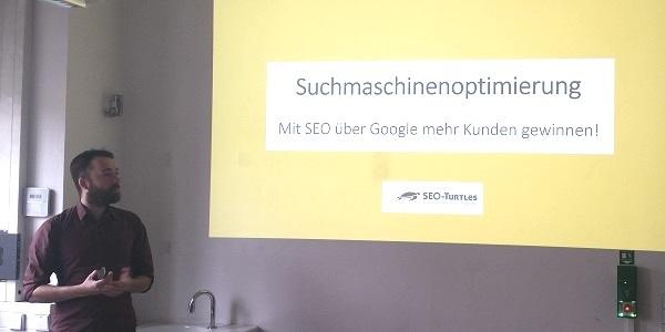 SEO-Experte A. Walz (SEO-Turtles) erneut zu Gast an der HFT Stuttgart - In Google ganz nach oben kommen
