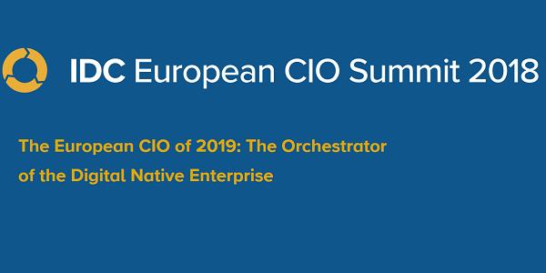 IDC European CIO Summit 2018 vom 16.-18.9.2018 - Der CIO der Zukunft
