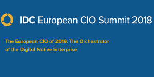 IDC European CIO Summit 2018