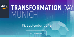 AWS Transformation Day 2018 in München