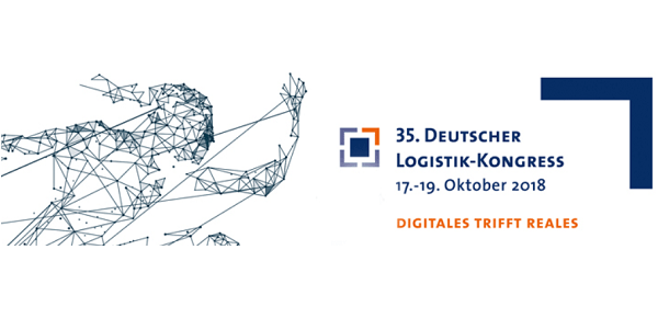 Deutscher Logistik Kongress 2018 (DLK 2018) in Berlin - Digitales trifft Reales