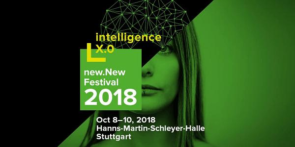 new.New Festival 2018: Mega-StartUp-Event von Code_n in der Schleyer-Halle in Stuttgart