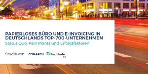 E-Invoicing-Studie von Fraunhofer IAO und Comarch