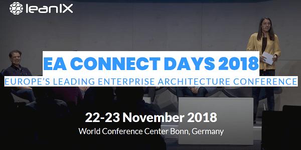 EA Connect Days 2018 am 22.+23.11. in Bonn: Top-Praxisvorträge rund um EA / EAM