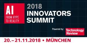 TR Innovators Summit AI 2018