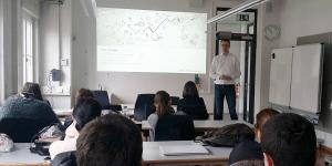 IT-Architektur-Experte Abdi von Sidion zu Gast an der HFT Stuttgart