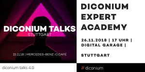 Diconium Talks 4.0 und Diconium Expert Academy