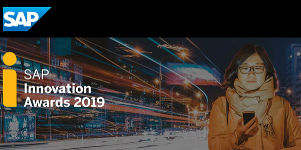 SAP Innovation Awards 2019 - Innovationen im SAP-Umfeld bis 8.2.19 einreichen #SAPinnovation