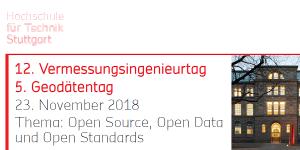 Vermessungsingenieurtag 2018 an der HFT Stuttgart