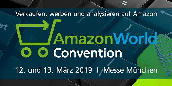 AmazonWorld Convention 2019 am 12. und 13.3. in München (Sonderkonditionen)