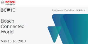 Bosch Connected World World 2019