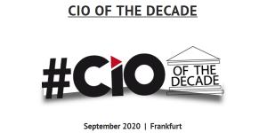 CIO of the Decade - Wer sind die besten IT-Manager des Jahrzehnts ?